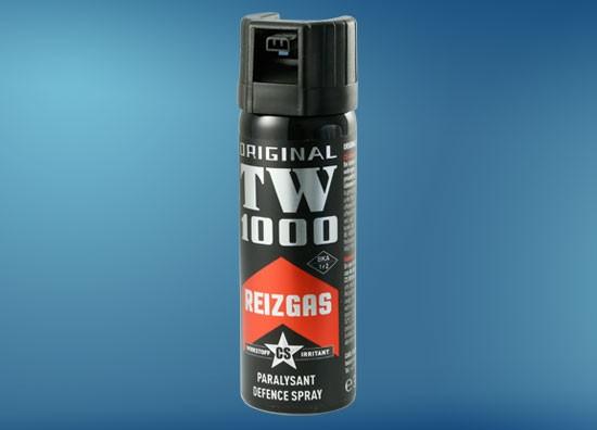 TW1000 Standard CS 63 ml, Abwehrspray mit 3-Kanal Düse