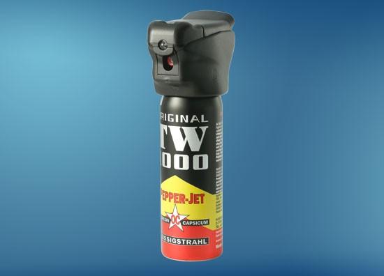 Pepper-Jet Standard 63 ml, Pfefferspray mit LED-Licht