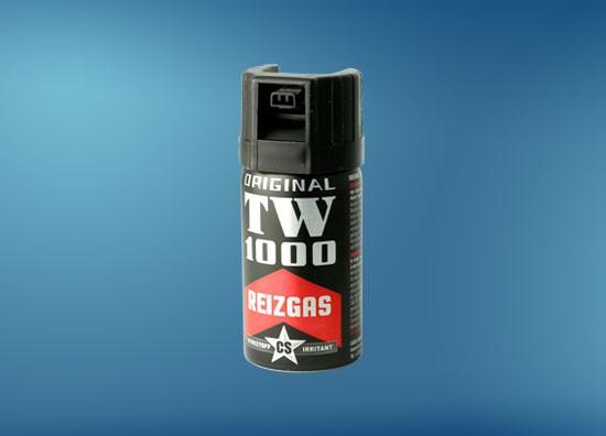TW1000 Man CS 40 ml, Abwehrspray mit 3-Kanal Düse