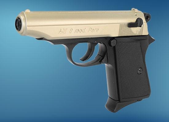 ME 9 Mod. Para bicolor, Kal. 9 mm P. A. Knall