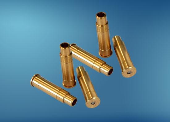 Zubehör ME Druckluftwaffen, Druckluftpatronen für Kal. .22 (5,5 mm), Messing