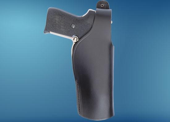 Pistolen-Holster, Leder