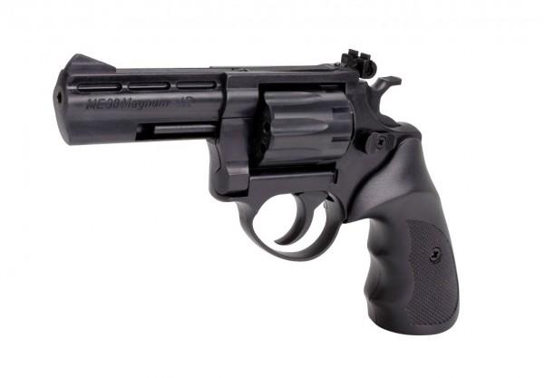 ME 38 Magnum-4R, Kal. 4 mm R lang, brüniert Kunststoffgriff